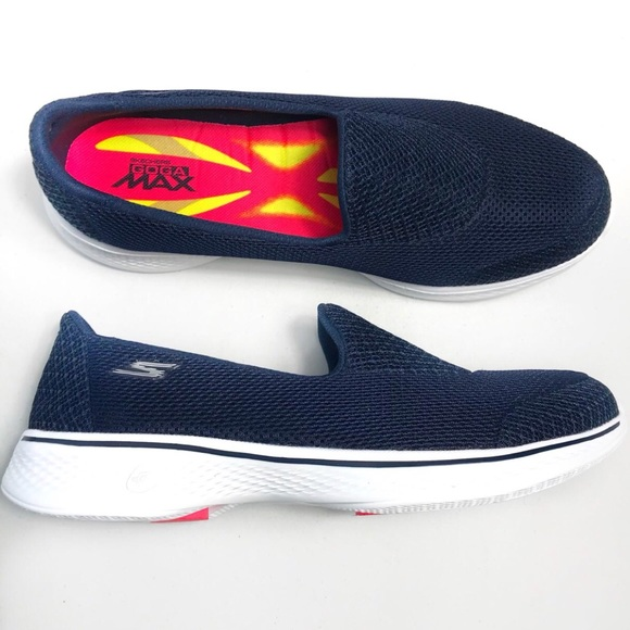 Skechers GOwalk 4 Propel Walking Shoe Black Women Shoes